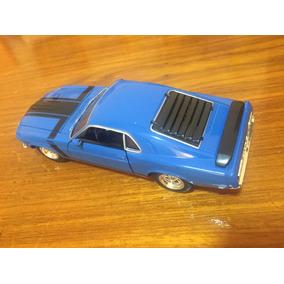 Miniatura Metal 1:24 Ford Mustang 1970 Colecionável