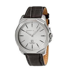 Reloj Perry Ellis Hombre Decagon De Cuarzo De 46 Mm 05007-