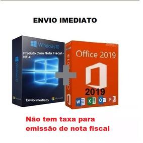 Windows 10 Pro Office 2019 Pro Chave Licença Download C/nf-e