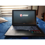 Msi Potenciado Gl62 Intel Core I7-7700hq/16 Nvidia 1050 2gb