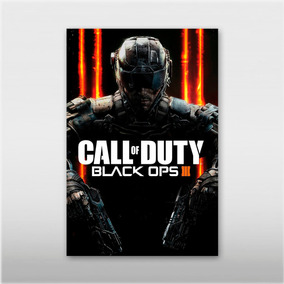 Kit 3 Poster 45x30cm Games Last Of Us Gta 5 Call Of Duty