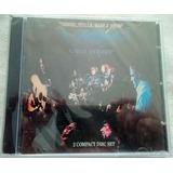 Crosby, Stiller, Nash & Young/ 2 Cds Original Y Nuevo