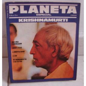 Especial Planeta - Krishnamurti - 151 Páginas -