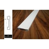 Rodapé Poliestireno 7cm Alt Branco Frisado (valor Do M) Rf70
