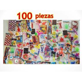 Juguetes Regalos Fiestas Piñatas Infantiles 100 Pzas
