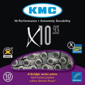 Cadena Para Bicicleta - Kmc.x10 - 10 Velocidades