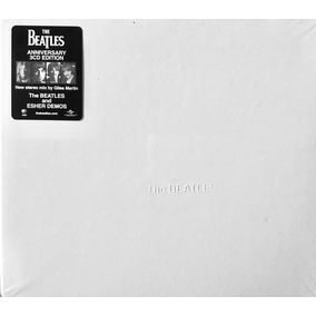 The Beatles White Album Remaster 3 Cds Lacrado