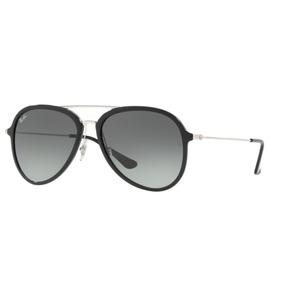 Oculos Rayban Aviador Degrade Cor Cinza Cinza Claro - Óculos no ... 5a742d8d61