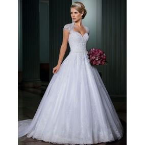 Vestido De Noiva Princesa Muito Lindo