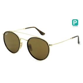 Óculos De Sol Ray-ban Justin Rb 4165l 622 6g 57. Paraná · Ray Ban Rb3647n  001 57 51 Round Double Bridge Polarizado - L 418b92197e