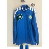 Camisa Adida Treino Palmeira Azul Palmeiras Masculina - Camisas de ... 7906140b562dd