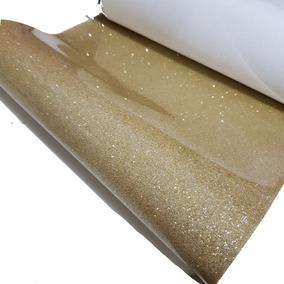 Rollo De Vinil Para Moños Glitter Con Charol Diamantado