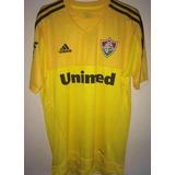 Camisa De Goleiro Do Fluminense Amarela Klever 1 adidas 2014