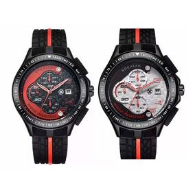 c0c4d7f6fb5 Atenção  Relógio Ferrari ( Fundo Vermelho) Original - Joias e ...