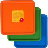 Juego De Bebé Y Bebé Lollaland - Naranja, Verde, Azul (paque
