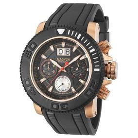 509debc96a5 Relogio Ouro Rose Masculino Magnum - Relógios De Pulso no Mercado ...