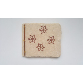 Cuaderno Artesanal De Guatemala Hecho Con Papel De Maíz