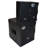 Gbr Combo Array 800 Subwoofer 15 Activo 500w + 2 Array 800