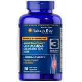 Glucosamina 1500 Condroitina 1200+ Msm 120cps Eua