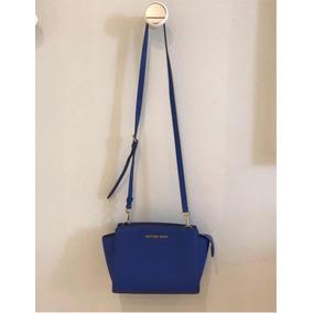 6de694f1b7300 Bolsa Michael Kors Femininas Azul em Distrito Federal no Mercado ...