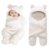 Saco Dormir Bebê Lã Cobertor Confort Unissex 0 A 9m Luxo