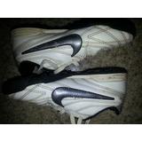 Zapatos Nike Futbol Micro Tacos Niños T 28 Poco Uso