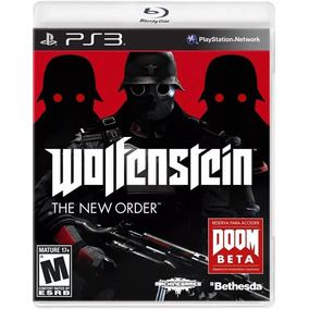Jogo Wolfenstein The New Order - Playstation 3