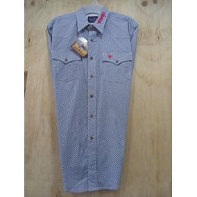 e86d25f0e6 Camisas Vaqueras Wrangler - Camisas Manga Larga de Hombre Azul acero ...