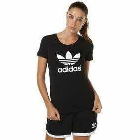 Playera Clásica adidas Color Negra