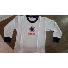 Uniforme Anglo Ensino Fundamental Camiseta Manga Longa d8708118dff59
