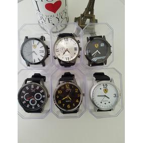 c4ed240f2d5 Kit 06 Relógios Masculinos Atacado Revenda
