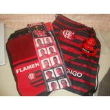633cc95832 Kit Flamengo Bolsa Porta Chuteira Cofre Poupançudo E Faixa