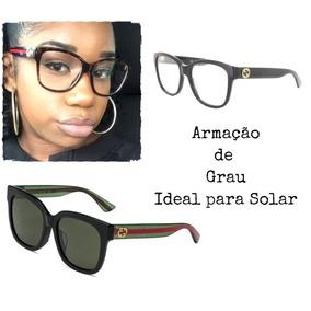 Armação Óculos De Grau Gucci Gg 0038o 54 17 140 Ideal Solar c1cec8af21