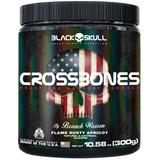 Pre Treino Com Pimenta Crossbones 300g Black Skull