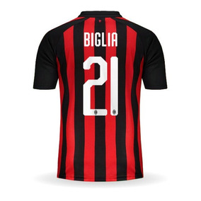 Camiseta Milan 2019 - Camisetas de Clubes Extranjeros para Adultos ... dc457540b092