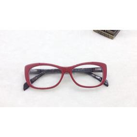 Oculos Sem Grau Quadrado Preto - Óculos Vermelho no Mercado Livre Brasil aa9b07697d