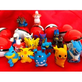 Pokémon Na Pokebola 50 Unid P Máquina De Bolinha Pula Pula