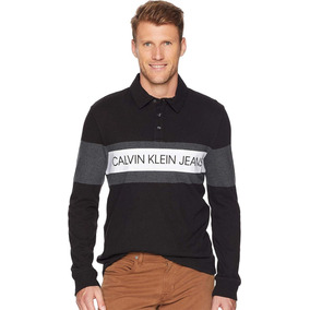 Sueter Casual Cuello Polo Calvin Klein Man Talla L 2,399$