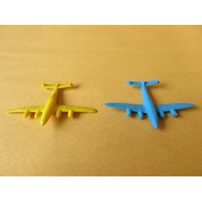 Lote Com 2 Aviões De Plástico Da Estrela.
