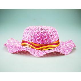 Sombrero Playero Para Niñas Playa Tapa Sol Con Lazo 57e065a3cac