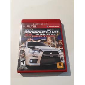 Midnight Club Los Angeles Complete Edition Ps3 Mídia Física.