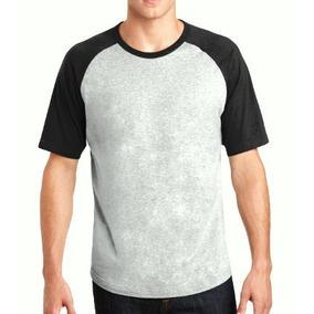 10 Camiseta Raglan Manga Curta Camisa 2 Cores Algodão Atacad 8fd287e646bf0