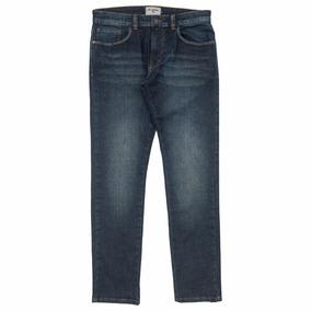 Calça Jeans Billabong Billa Slim Fit Chill Out Azul Original 92840dfab9f