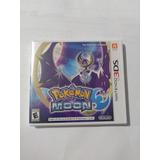 Pokemon Moon - Nintendo 3ds- Envio Gratis! Nuevo Y Sellado
