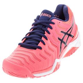 Tênis Asics Resolution 7 Clay Pink Feminino