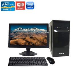 Computador Completo I3 2120 4gb 500gb Dvd/rw + Wi-