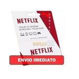 Cartão Pré Pago Netfix Premium 30 Dias 1 Mês Ultra Hd
