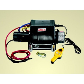 Winch Electrico 6000 Lbs De 4.8 Hp Y 33 M De Cable Para 12v