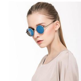 Óculos Sol Redondo Prata Ozzy John Lennon Masculino Feminino 8b54fd01e9