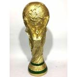 Réplica Taça Troféu Da Copa Do Mundo Fifa Tamanho Oficial